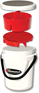 Shurhold 2461 5 Gallon White Multi-Purpose Bucket Kit