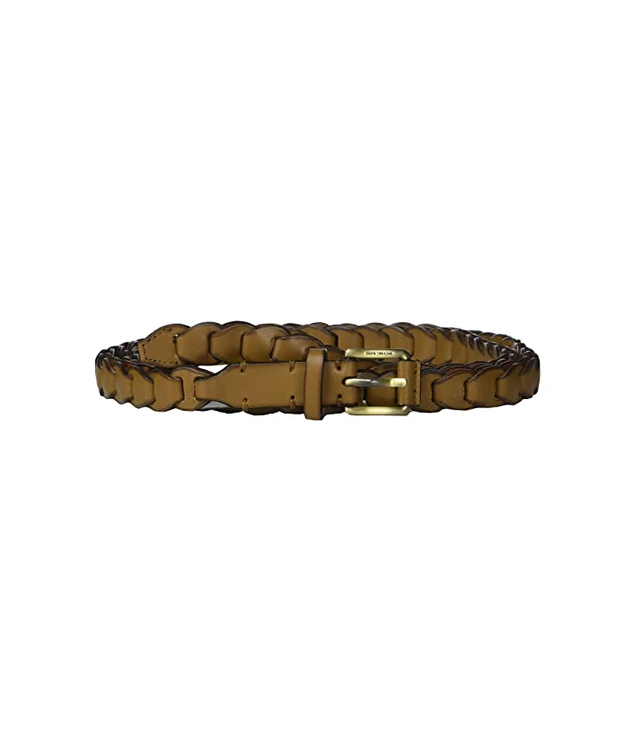 MICHAEL Michael Kors Skinny Braid Belt (Acorn) Women