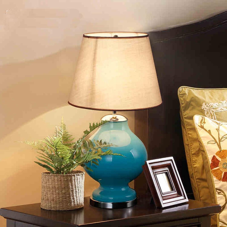 DLewiee Nordic Amerikanischen Minimalistischen Wohnzimmer Glaslampen Schlafzimmer Nacht Studie Kreative Lampe Dimmbar Blau Basis B01JGNOX0O     | Verrückter Preis, Birmingham