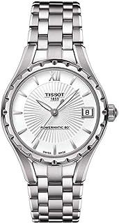 ساعة يد تيسوت للنساء اوتوماتيك، عرض انالوج وسوار ستانلس ستيل T0722071103800