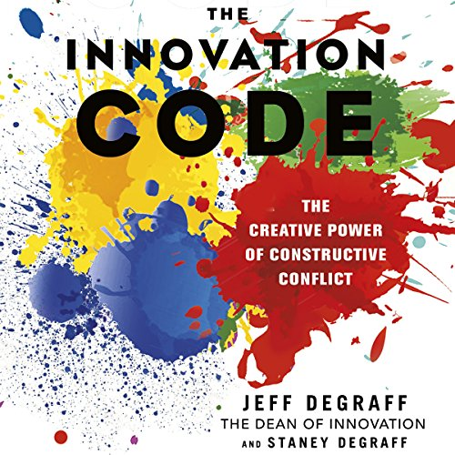 The Innovation Code audiobook cover art