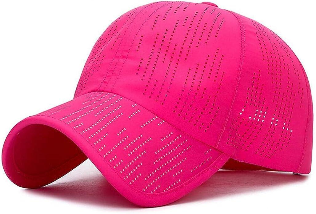 XibeiTrade Plain Breathable Quick Drying Baseball Cap Mesh Sun Hat for Baseball Golf Fishing Outdoor Hats