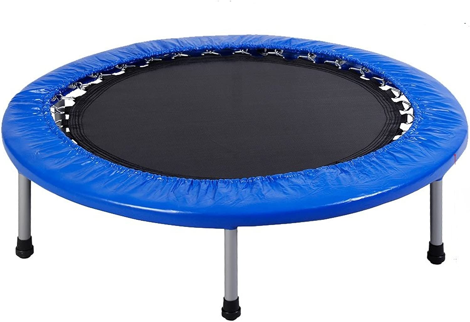 "GYMAX 38"" Mini Trampoline Set Foldable Fitness Exercise Bouncer W  Carry Bag Christmas Gift"