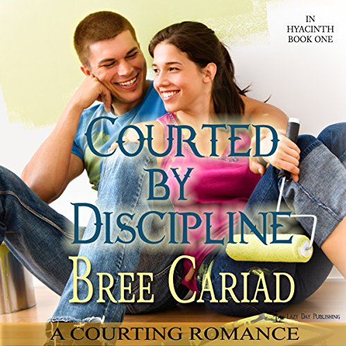 Courted by Discipline: A Courting Romance audiobook cover art