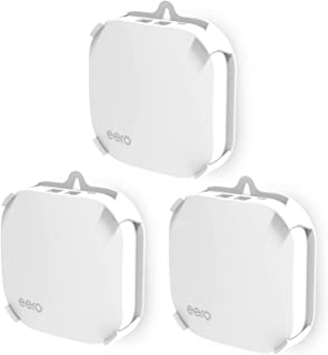 MYRIANN Wall Mount Holder for eero Home Wifi(3 Pack) Wall Mount Bracket Ceiling Holder For eero Home Wifi,White ...