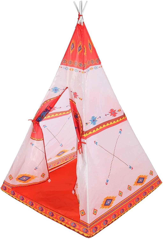 LF DD Kinderspielzelt Exotic Toys Yurt Netze Faltspielhaus (Orange 150  90  90 cm Verpackung von 1)