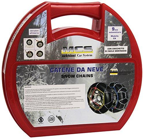 Melchioni CA9110 Cadenas para Nieve, 2 Unidades