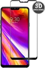 E-Hamii LG G7 (Negro) Película Protectora 3D Curvada Protector Completo de la Cobertura Proteccion de Vidrio Templado 9H Anti-Cero Protector de Pantalla Completa HD