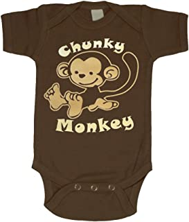 Infant Bodysuit Chunky Monkey | Size 0-3 Months to 12 Months | Baby Onesies