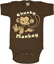 Bebe Bottle Sling Infant Bodysuit Chunky Monkey   Size 0-3 Months to 12 Months   Baby Onesies