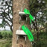 HoneybeeLY Ramponi, 1 Paio di spuntoni rampicanti per Alberi, speroni rampicanti in Acciaio Inossidabile, Accessorio per Arrampicata e Tree Climbing