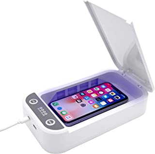 Cell Phone Soap Portable Cell Phone Box Aromatherapy Function Cell Phone Cleaners for iOS Android Smartphones Jewelry Watch (White)
