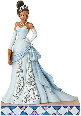 Enesco Disney Traditions 6002821 Enchanting Entrepreneur Tiana Princess Passion Figure