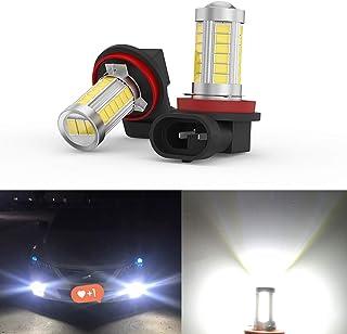 New Upgrade H11 Fog Lights Led Super Bright H11 H8 33SMD-5730 Chipsets Fog Lights White Led H11 H8 H11LL H8LL Fog Lights 6...