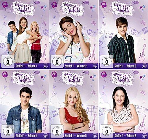 Violetta - Staffel 1.1 - 1.6 [12-DVD]
