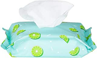 Miniso Facial Multi Use Wet Wipes Tissue Papers 30 Sheets for Baby and Adults(Lemon)