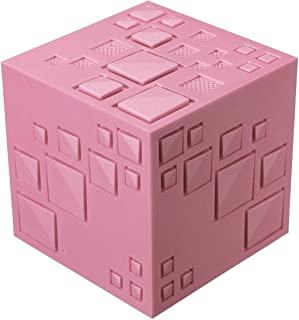 Barir Portable Bluetooth Speaker Creative Rubik's Cube Wireless Phone Computer Bluetooth Card Speaker Mini Subwoofer Speaker (Color : Pink)
