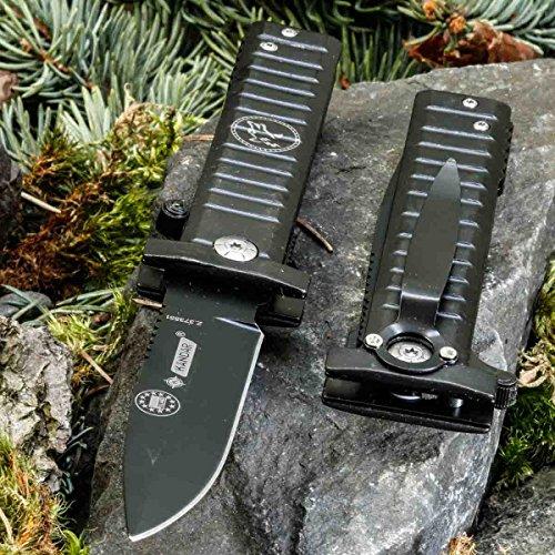KANDAR B-20 • Pocket Folding Outdoor Camping Edc Knife • Overall Lenght: 8.66in • PTM-uk.