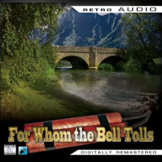 For Whom the Bell Tolls audiobook cover art