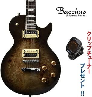 Bacchus Universe Series BLP-BP/R BK-B(ブラックバースト)・バッカス/バールポプラトップ・レスポールタイプ