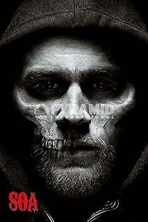 Pyramid America Sons of Anarchy Jax Skull Cool Wall Decor Art Print Poster 24x36