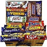 Mega Chocolate Lovers Gift Hamper Caja de selección de chocolate para todos