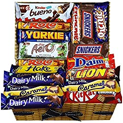 Mega Chocolate Lovers Gift Hamper Chocolate Selection Box