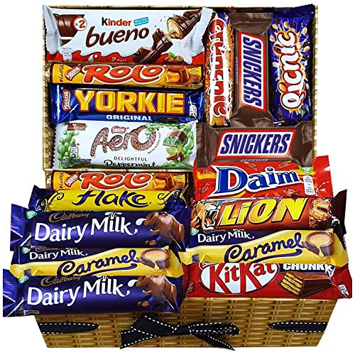 Mega Chocolate Lovers Gift Hamper Chocolate Selection Box for All