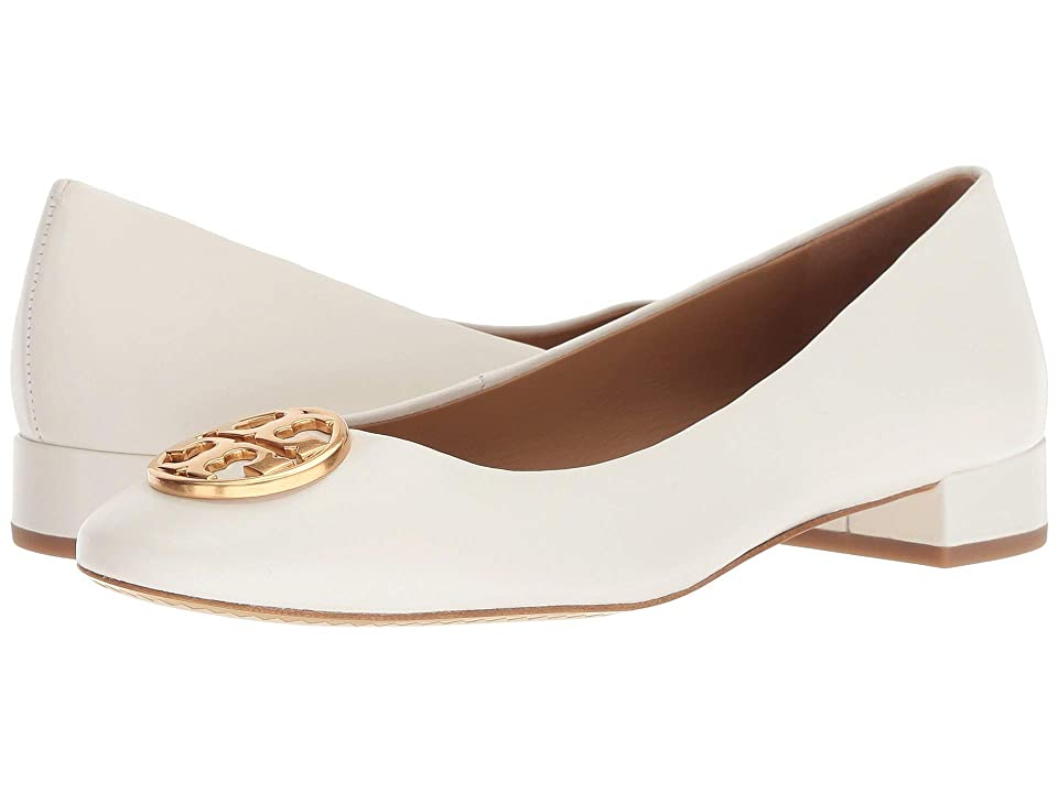 Tory Burch Chelsea 25mm Ballet Flat (Perfect Ivory) Women