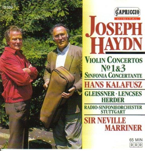 Haydn: Violin Concertos No. 1 & 3 - Sinfonia Concertante