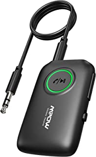 Mpow Bluetooth 5.0 Transmitter Receiver, 2-in-1 Wireless Bluetooth Adapter with aptX Low Latency, aptX HD, Noise-Cancellin...