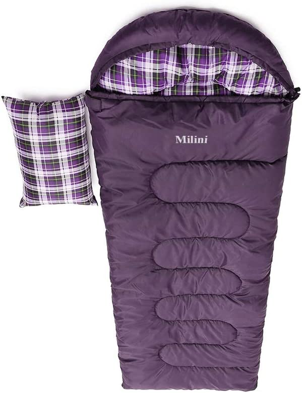 Milini Ranking TOP9 Outdoor Portable Topics on TV Camping Sleeping Bags Warm