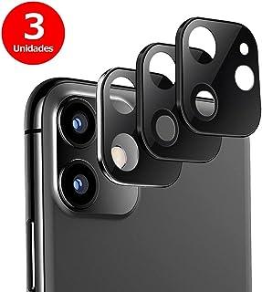 G-Color Protector Cámara/Cámara Trasera Lente iPhone 11 [3 Unidades] [Alta definición] [9H de Dureza] Cristal Vidrio Templado para iPhone 11