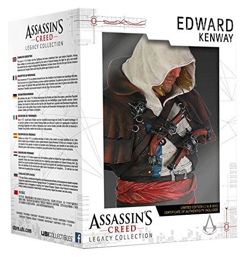 Ubisoft - Assassin'S Creed IV Black Flag Busto Edward Kenway - Legacy Collection