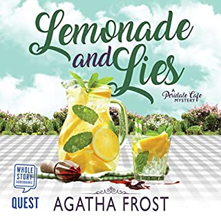 Lemonade and Lies audiobook cover art