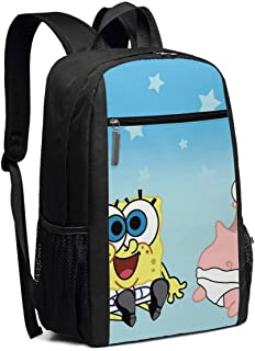 Travel Laptop Backpack Spongebob-squarepants-baby-wallpaper-4 College School Bookbag Computer Bag Casual Daypack For Women Men