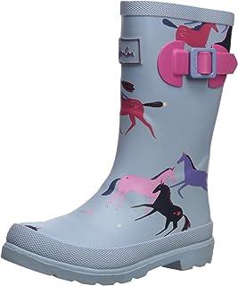 Joules Kids` Girls Welly Rain Boot