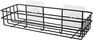 Muur planken beugels IJzeren badkamer opslag rack metalen punch-free plank douche wandgemonteerde zuigmand organizer keuke...