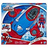 Super Hero Adventures Playskool Heroes Marvel Spider-Man Jet-Quartier