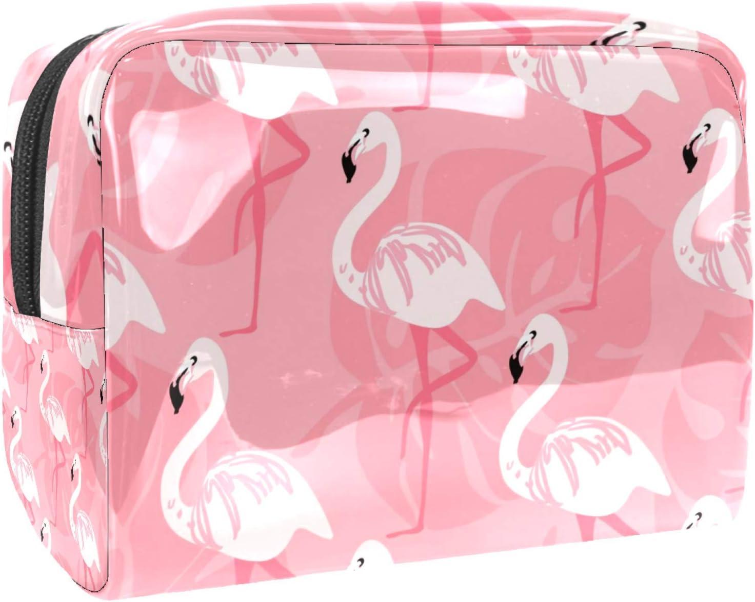 Cosmetic cheap Bag for Women price Roomy seamless Cartoon Bags Makeup flamin