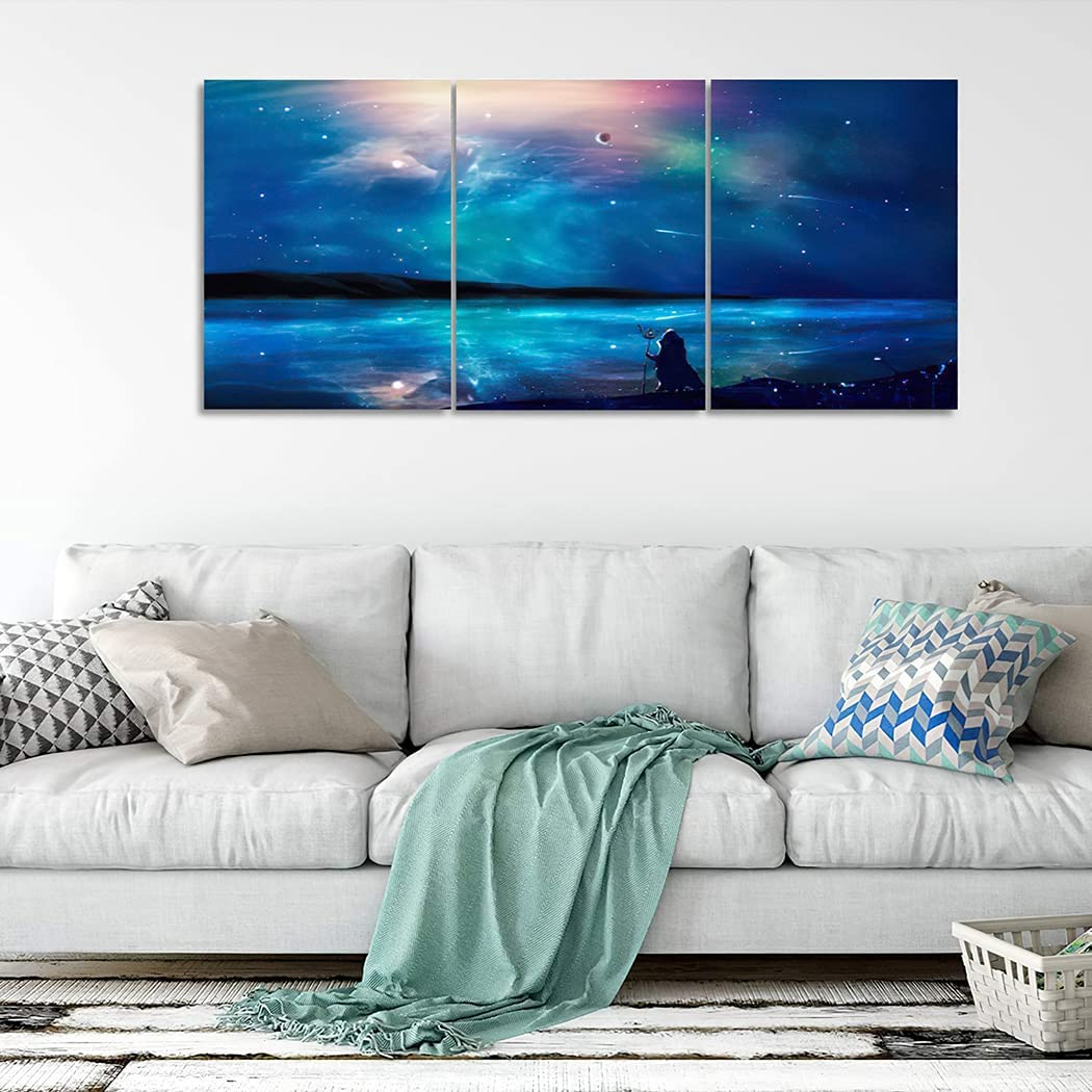 3 Piece Wall Now on sale Art Painting Sci Structure Mountain Canvas Free shipping on posting reviews