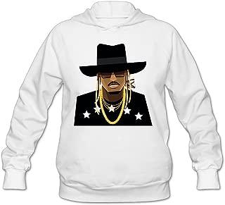 SAMMOI The Future Rapper Men's Sport Hoodies White
