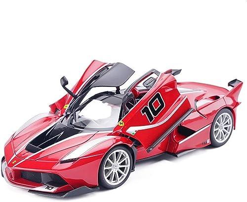 KaKaDz Wei KKD 1 24 Voiture de Sport Simulation Jouet Modèle De Voiture en Alliage Pull Back Enfants Jouets Collection Cadeau Ferrari FXX Modèle De Voiture Véhicule Simulation Véhicule