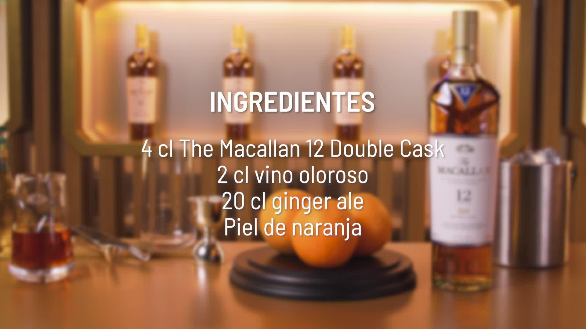 Macallan Double Cask, 12 Años Single Malt Whisky Escoces, 40 ...