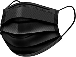 Mobistik 3 Layer Disposable Surgical face mask with Nose Clip with Soft Ear loop || ISO Certified