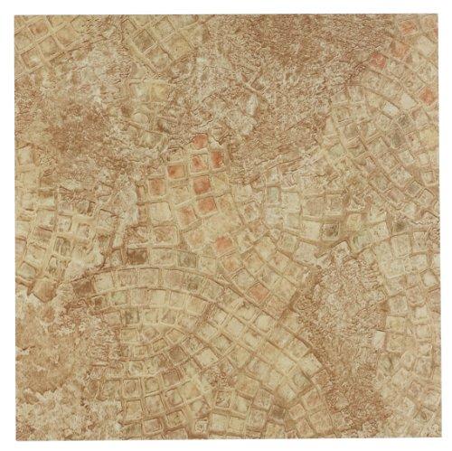 Achim Einrichtungsgegenstände ftvgm32920Nexus 12-inch Vinyl-Fliesen, Mosaik Geo Antike, Beige, 20-pack