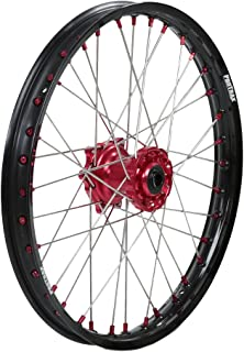 Protrax Complete Front Wheel 21-by-1.60 inch Red