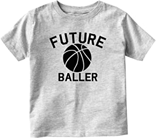 Societee Basketball Second Birthday Youth Toddler Graphic Long Sleeve T-Shirt
