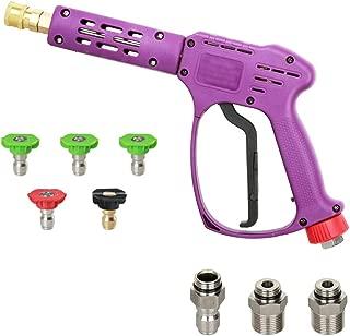 Atmozon Pressure Washer Spray Gun, 5 Power Washer Nozzle Tips,1/4