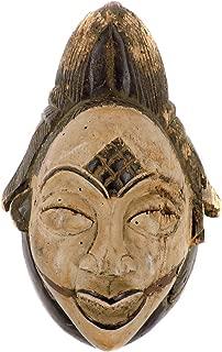 Punu Maiden Spirit Mask Mukudji White Gabon African Collection